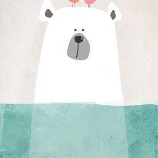 Leinwandbilder Eisbär für Babyzimmer