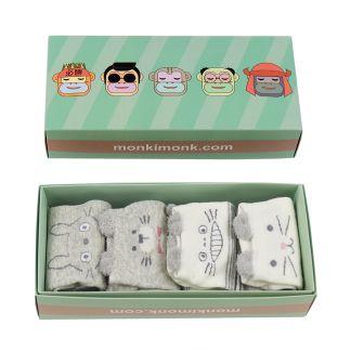 süße Socken Damen, kawaii Geschenkbox, Korean Style, Japan Style