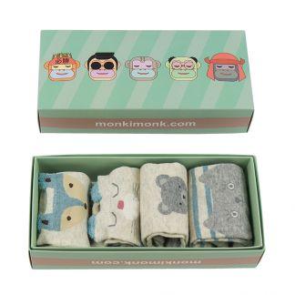 niedliche Socken für Damen, Kawaii Sockenbox, süße Geschenkidee
