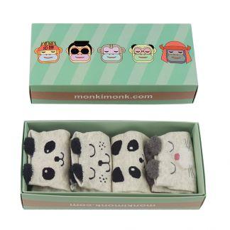 süße Panda Socken für Frauen, Kawaii Shop Deutschland, niedliche Füßlinge