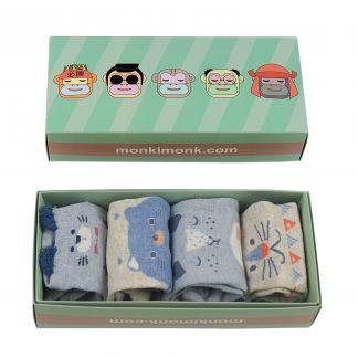 süße Füßlinge für Damen, kleine Geschenkidee, Sockenbox für Japan-Fans