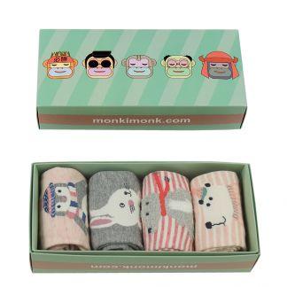 Kawaii Socken für Frauen und Tierliebhaber, besondere Geschenkidee für Freundin
