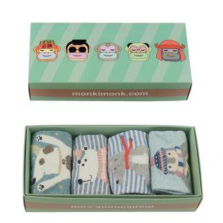 Süße Geschenkbox für Frauen, Kawaii Socken, süße Sockenbox