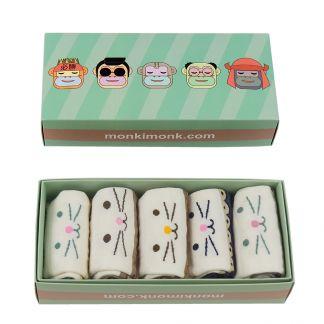 süße Socken Frauen, mit Punkten, Streifen, Pastell, süße Geschenke, monkimonk