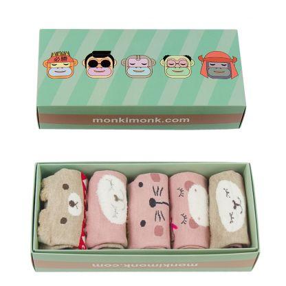 kawaii box, süße Socken für Damen, Sockenbox, niedliche Socken, Pastell, monkimonk