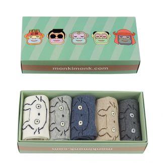 süße Totoro Socken für Frauen, Kawaii Geschenkbox, Anime Socken, monkimonk