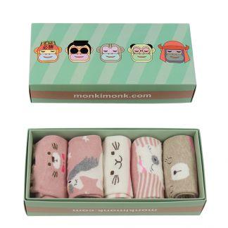 süße Socken Unicorn Einhorn, Kawaii Socken für Frauen, Geschenkidee für beste Freundin, Socken im koreanischen und Japanischen Stil, monkimonk