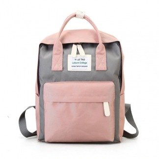 "Mini Rucksack Damen ""Leisure College"" Korean Style"