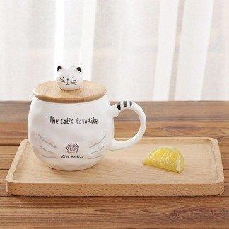 süße Tassen mit Deckel, Katzentassen, Katzenporte, Kawaii Online Shop Deutschland, Japan Style