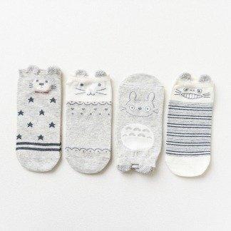 Totoro Socken Füßlinge im japanischen Stil