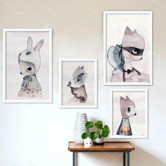 süße Wandbilder du kannst alles werden für Kinderzimmer