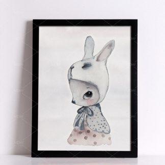 niedliche Wandbilder Kaninchen