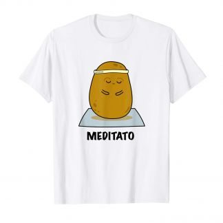 Paul the Potato Meditato T-Shirt, Kawaii Shop Deutschland