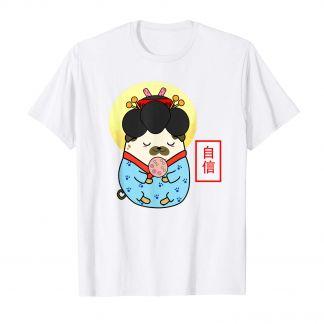 Pugtato, Geisha Mops, Kimono, Kawaii Shop Deutschland, T Shirt