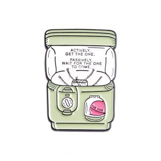 "Cute Enamel Pin ""Grabber/ Vending Machine"""