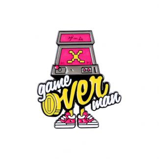 Enamel Pin Gameover Man Kawaii Shop