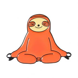 "Emaille Anstecker ""Meditation Sloth"" Sloth Enamel Pin"