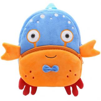 "Kinder Rucksack ""Wandering Crab"" Krebs Kawaii Shop Deutschland Cute Backpack for Children"