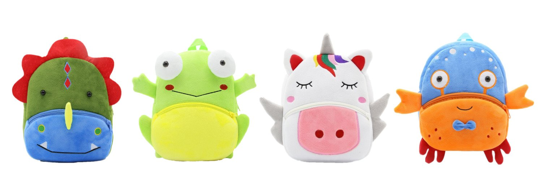 Kinderrucksack Children Backpack Kawaii Shop Unicorn Einhorn Frosch Frog Dino