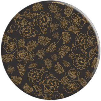 monkimonk Flora Mix- Rose und Blumen Muster - PopSockets Ausziehbarer Sockel und Griff für Smartphones und Tablets