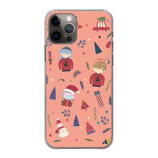 """Handyhülle """"Dinos & Flowers"""" für Modell iPhone"""