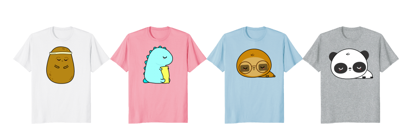 süße T-Shirts monkimonk